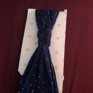 Other - Baby blind navy blue braided headband